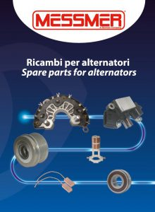 Spare parts for alternators catalogue